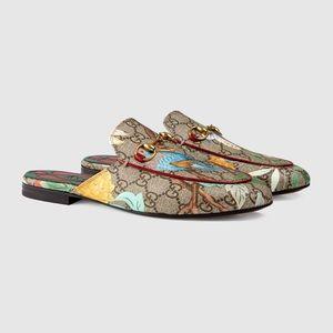 Gucci Tian Princetown Slipper